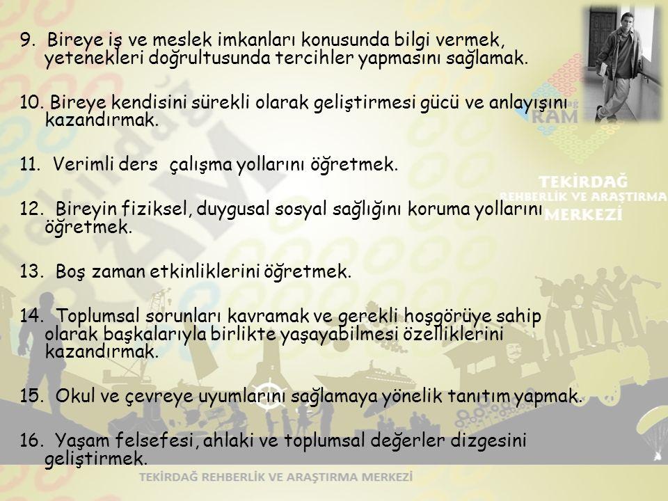 REHBERLİĞİN İLKELERİ 1.