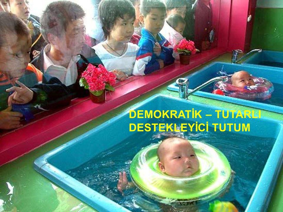 DEMOKRATİK – TUTARLI DESTEKLEYİCİ TUTUM