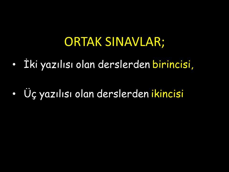 OGES'DE HANGİ DERSLERDEN SORU SORULACAK .8.