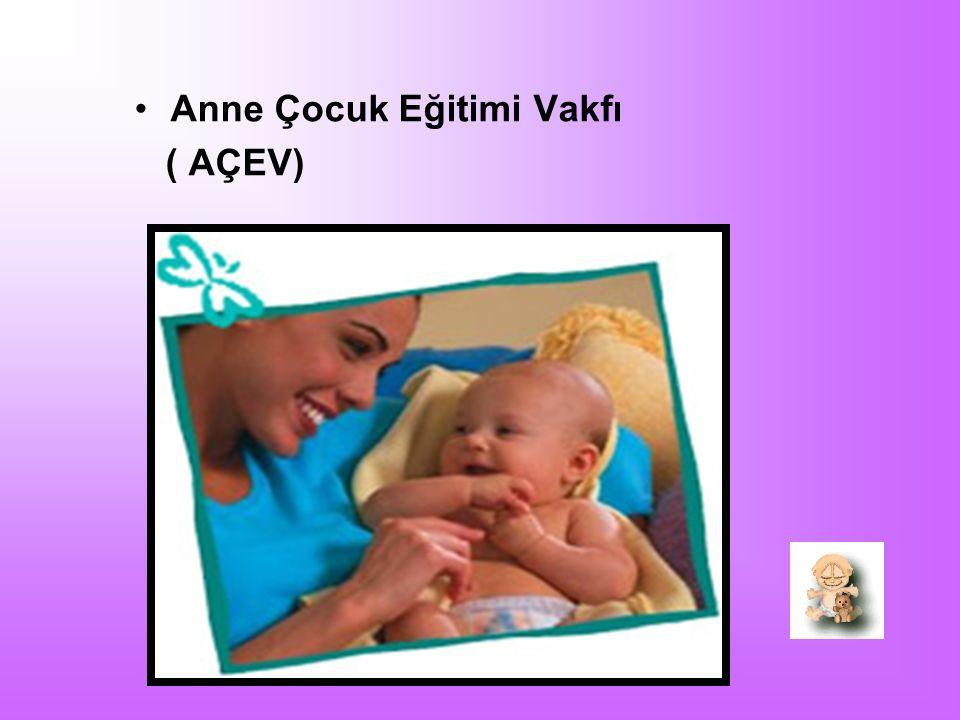 Anne Çocuk Eğitimi Vakfı ( AÇEV)