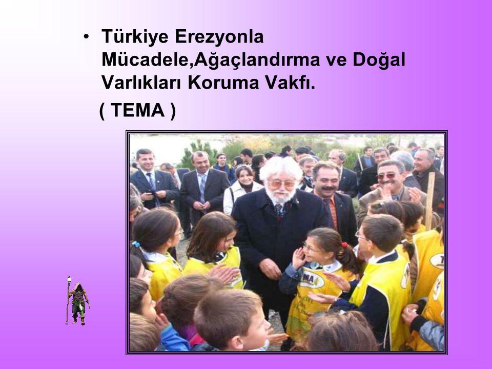 Türkiye Erezyonla Mücadele,Ağaçlandırma ve Doğal Varlıkları Koruma Vakfı. ( TEMA )
