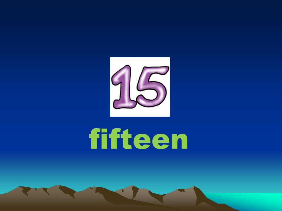 FINDING THE WORDS 18 fet e f n number i =