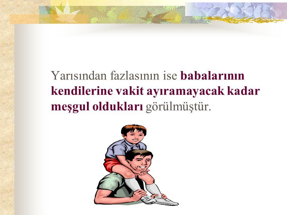 Çocuğun zeka ve kişilik gelişiminin temelinde annenin ve babanın davranışlarını buluyoruz.