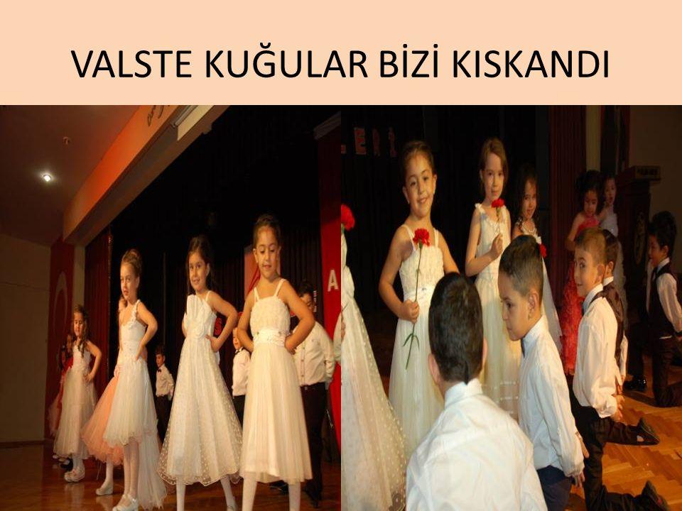 VALSTE KUĞULAR BİZİ KISKANDI