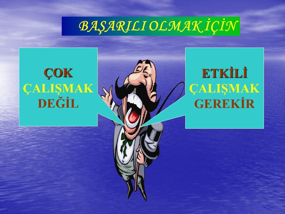 Verimli Ders Çalışma Teknikleri MEHMET EKİCİ dkaya70@hotmail.com
