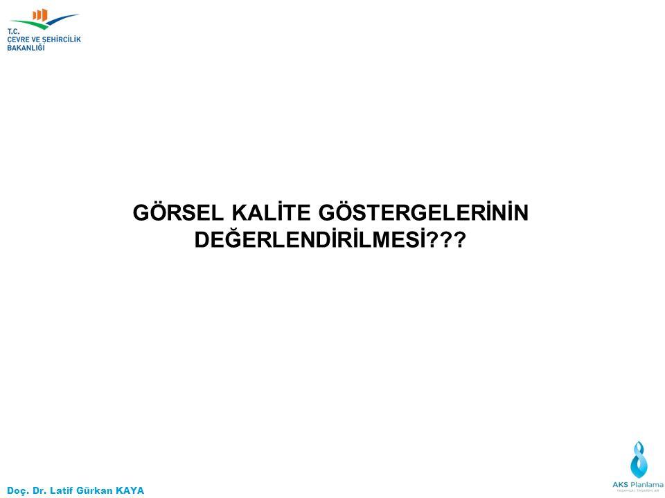 Doç. Dr. Latif Gürkan KAYA GÖRSEL KALİTE GÖSTERGELERİNİN DEĞERLENDİRİLMESİ???