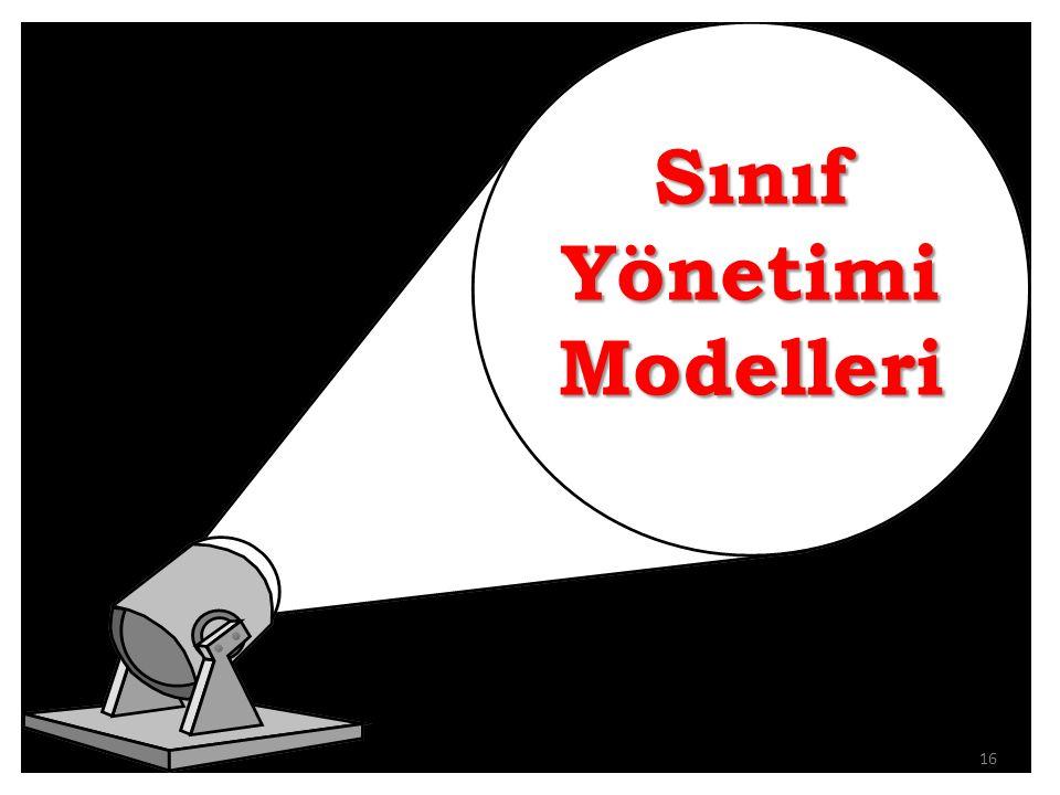 Sınıf Yönetimi Modelleri 16