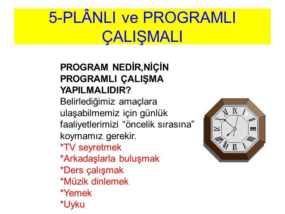 PROGRAM NASIL HAZIRLANIR.1.