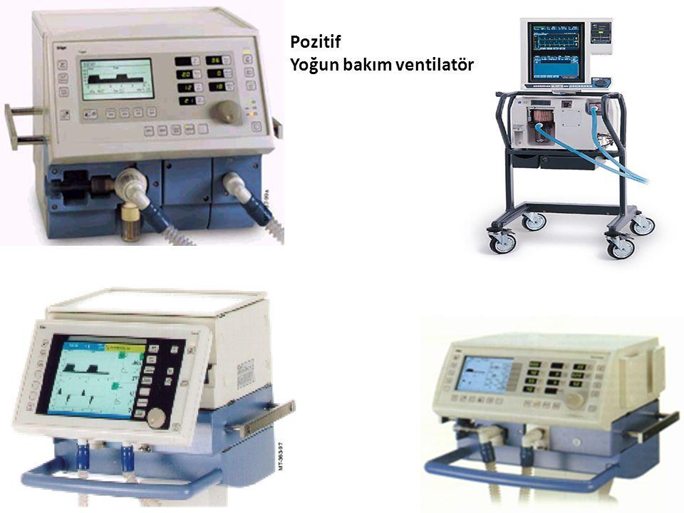 Pozitif Yoğun bakım ventilatör