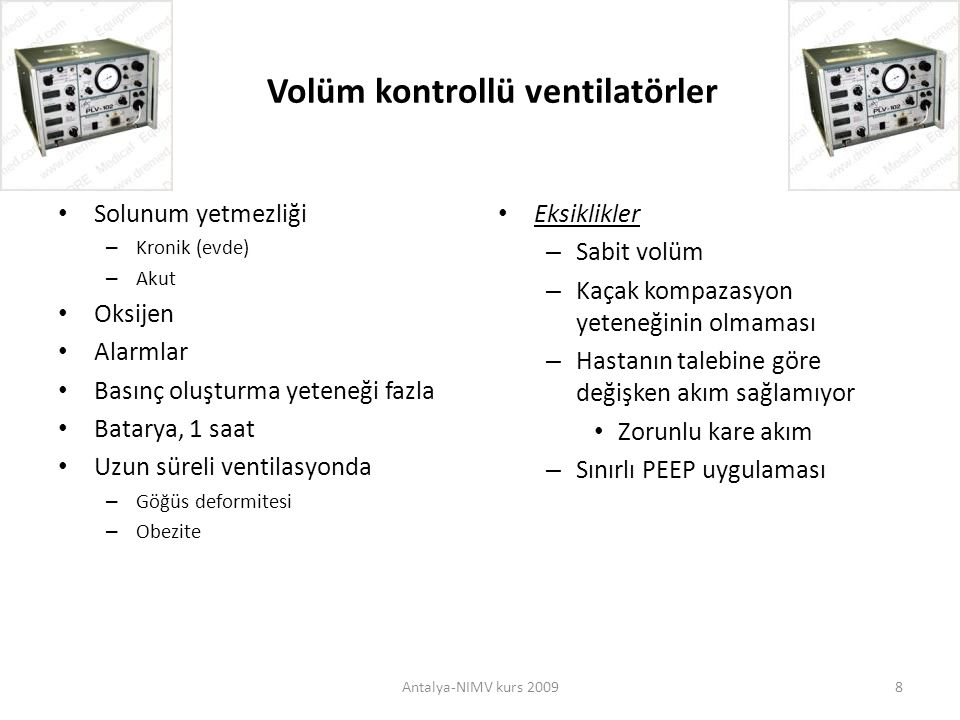 THE COMPARISON of BI-LEVEL VENTILATOR and ICU VENTILATOR in PATIENTS with ACUTE HYPERCAPNIC RESPIRATORY FAILURE Karakurt S, Eryüksel E, Çelikel T.