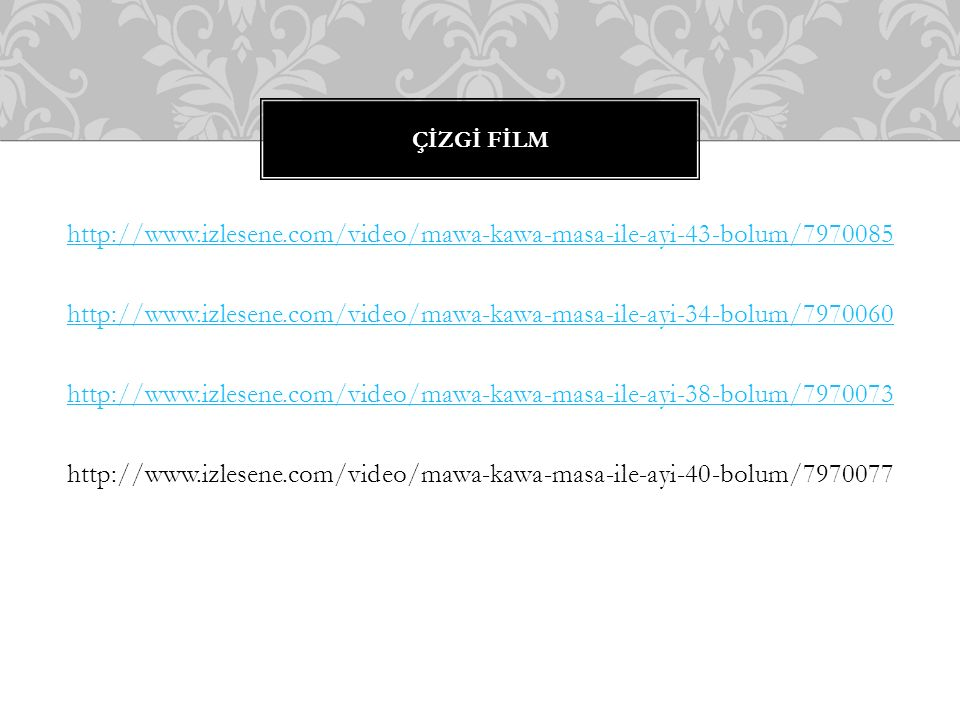 http://www.izlesene.com/video/mawa-kawa-masa-ile-ayi-43-bolum/7970085 http://www.izlesene.com/video/mawa-kawa-masa-ile-ayi-34-bolum/7970060 http://www