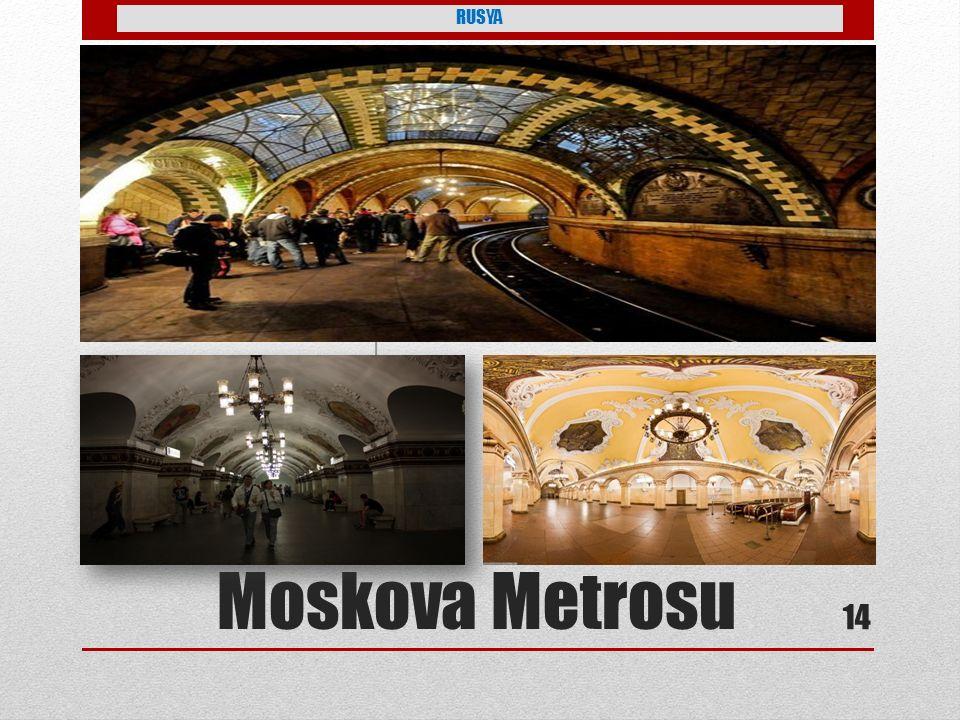 RUSYA Moskova Metrosu 14