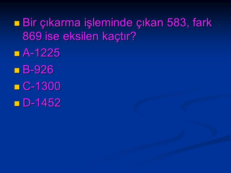 Bir çarpma işleminde çarpım 2808,çarpanlardan biri 6 ise diğer çarpan kaçtır.