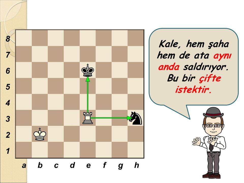 Çifte istek hamlesi, satranç oyuncuları arasında 'çatal' olarak bilinir.