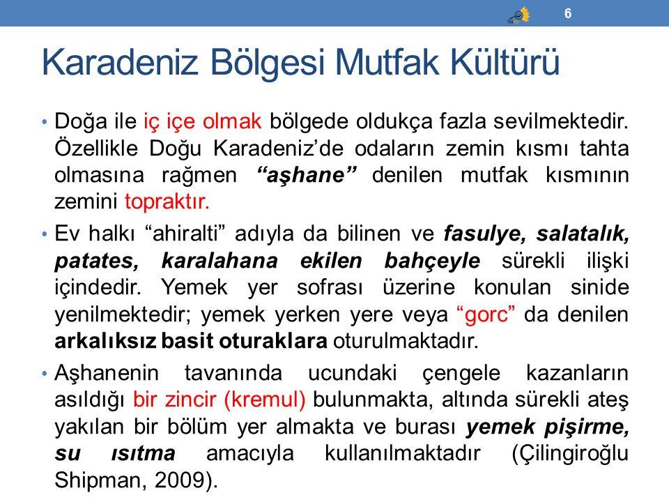 İç Anadolu Bölgesi Mutfak Kültürü Bölgenin ülke genelinde tahıl ambarı olarak anılması yöre mutfak kültürünün de bu yönde gelişmesine etki etmiştir.