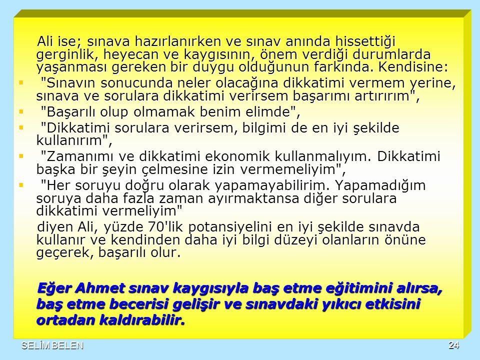SUNU TASARIM SELİM BELEN23  Ahmet niye geride kaldı.
