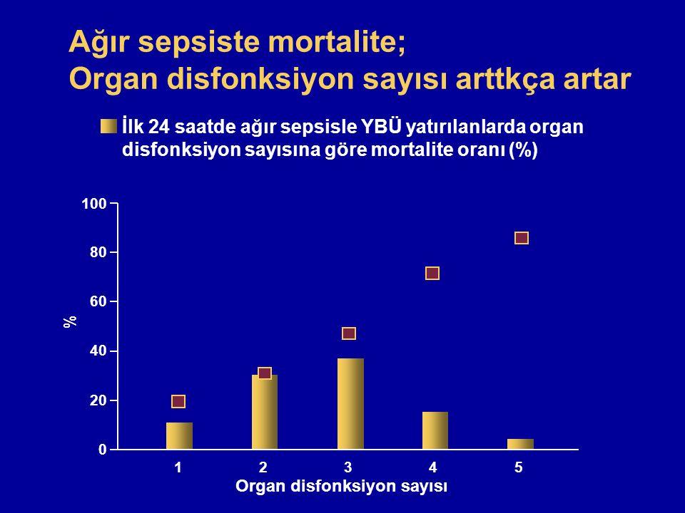 Sepsisteki (ileri enfeksiyon) hastalar ile ilgili görsel sonucu