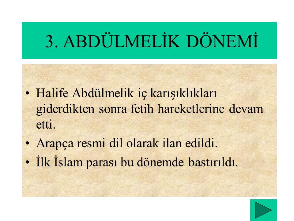 2.YEZİD DÖNEMİ Hz. Hüseyin'in öldürülmesi İslam Dünyasındaki ayrılıkları daha da arttırdı. Hz.Ali taraftarları Ayrılarak Şİİ mezhebini kurdular.