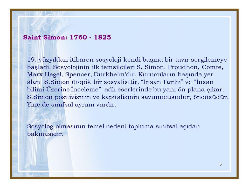 46 Max Weber : 1864 - 1920 1864-1920 yılları arasında yaşayan ünlü Alman düşünürü ve sosyoloğu Max Weber, sosyolojiye önemli katkılar sağlamış, bir bilim olarak sosyolojinin genel kavramsal çerçevesini çizmiş ve tutarlı bir sosyal bilimler felsefesi geliştirmiştir.