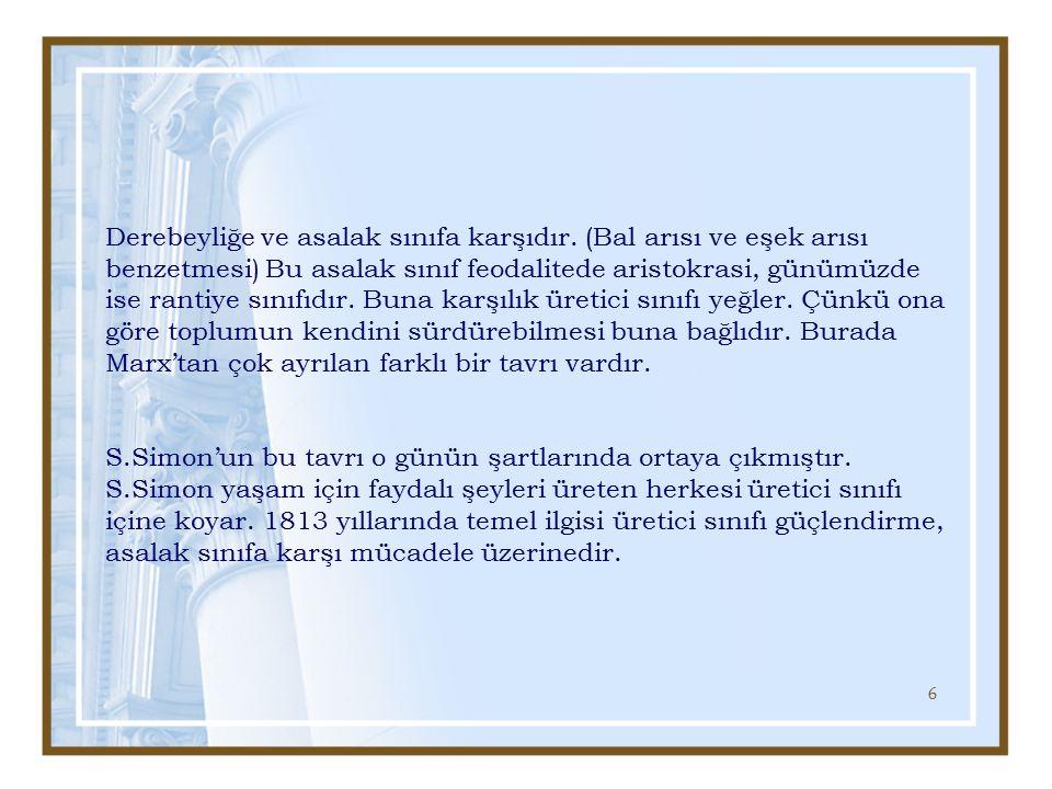 27 Durkheim: 1 8 58 - 1917 Aslında bir okuldur.