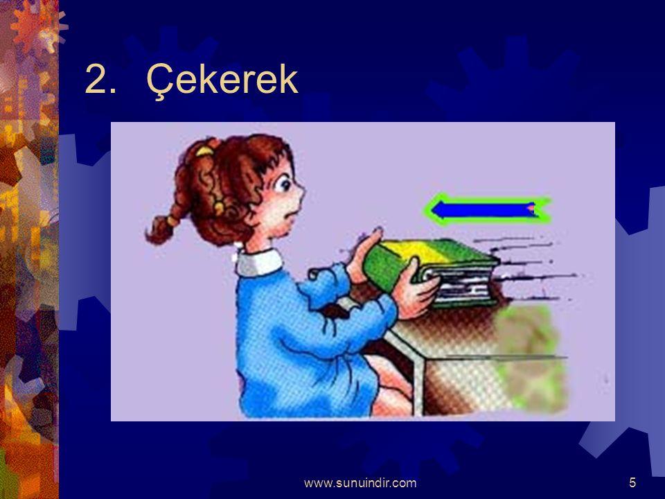 www.sunuindir.com4 Duran Cisimleri ; 1. İterek;