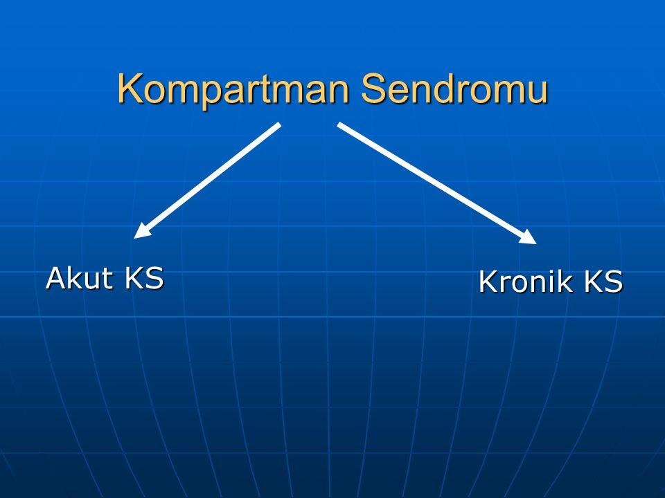 Akut KS Kompartman Sendromu Kronik KS