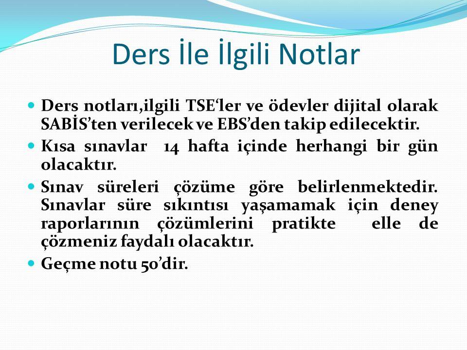 KAYNAKLAR 1.Bayram Ali Uzuner, Temel Zemin Mekaniği, Derya Kitabevi 2.