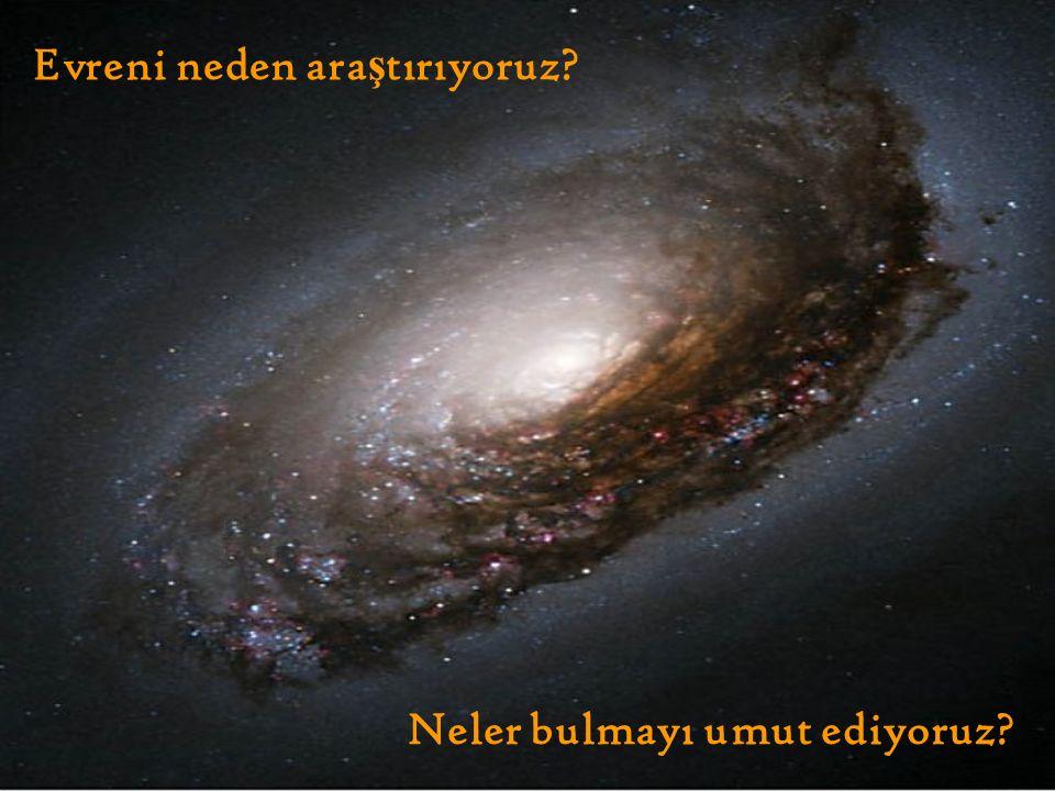 Neler bulmayı umut ediyoruz Evreni neden ara ş tırıyoruz