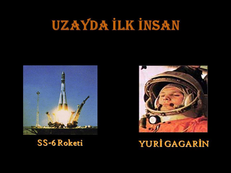 UZAYDA İ LK İ NSAN SS-6 Roketi YUR İ GAGAR İ N