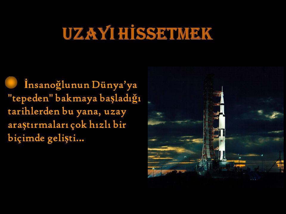 İ nsano ğ lunun Dünya'ya tepeden bakmaya ba ş ladı ğ ı tarihlerden bu yana, uzay ara ş tırmaları çok hızlı bir biçimde geli ş ti...