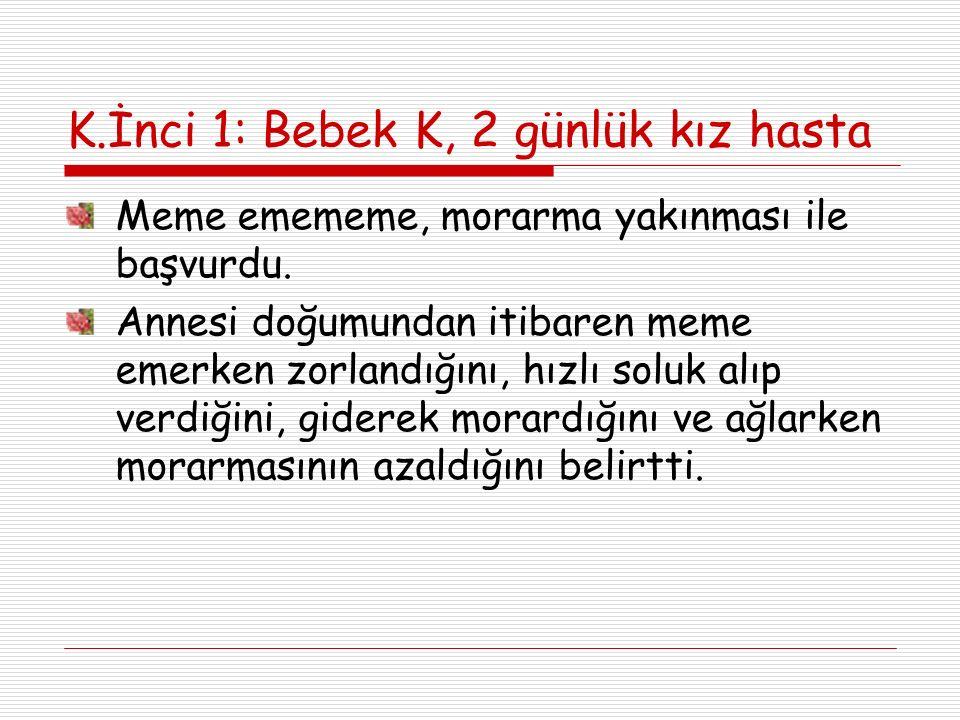 K.İnci 4 a) En olası etkenler Staph.aerius ve M.pneumoniadır b) Hasta hastaneye yatırılarak tedavi edilmelidir c) Kan kültürünün tanıda yeri yoktur d) Klaritromisin tedavide yeterlidir