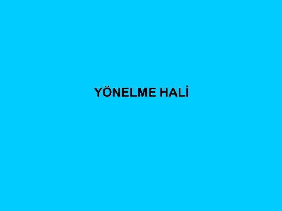 YÖNELME HALİ