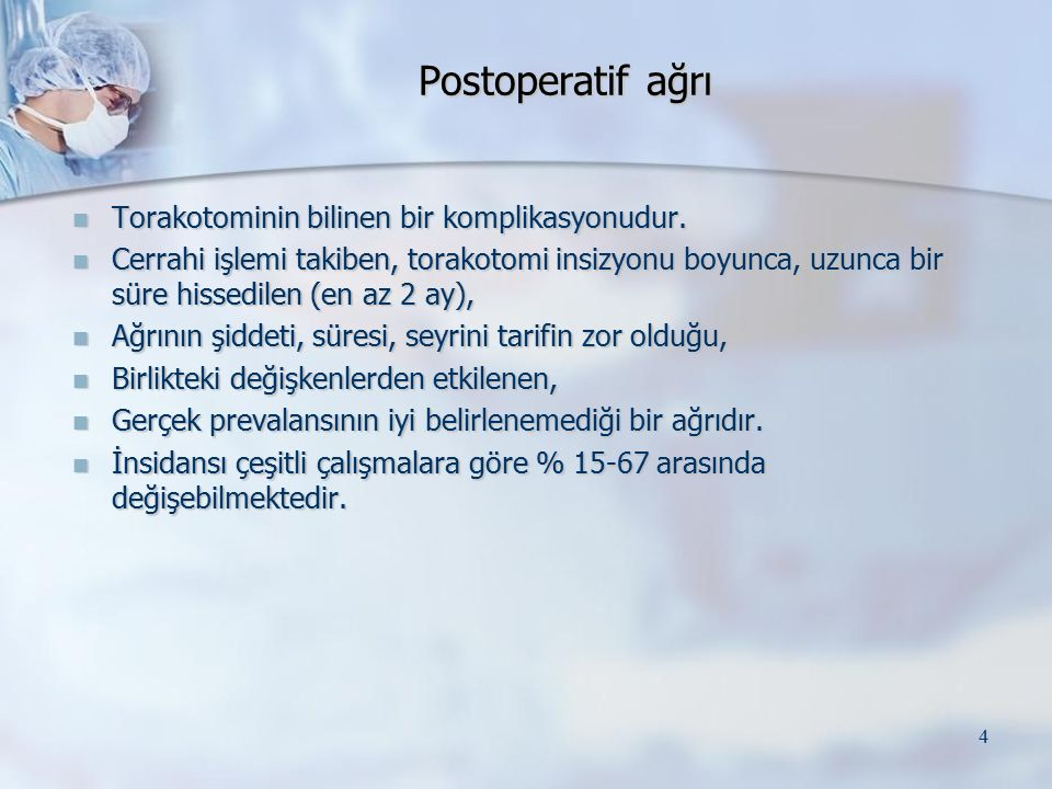 35 Solak, O., A.Turna, A. Pekcolaklar, M. Metin, A.