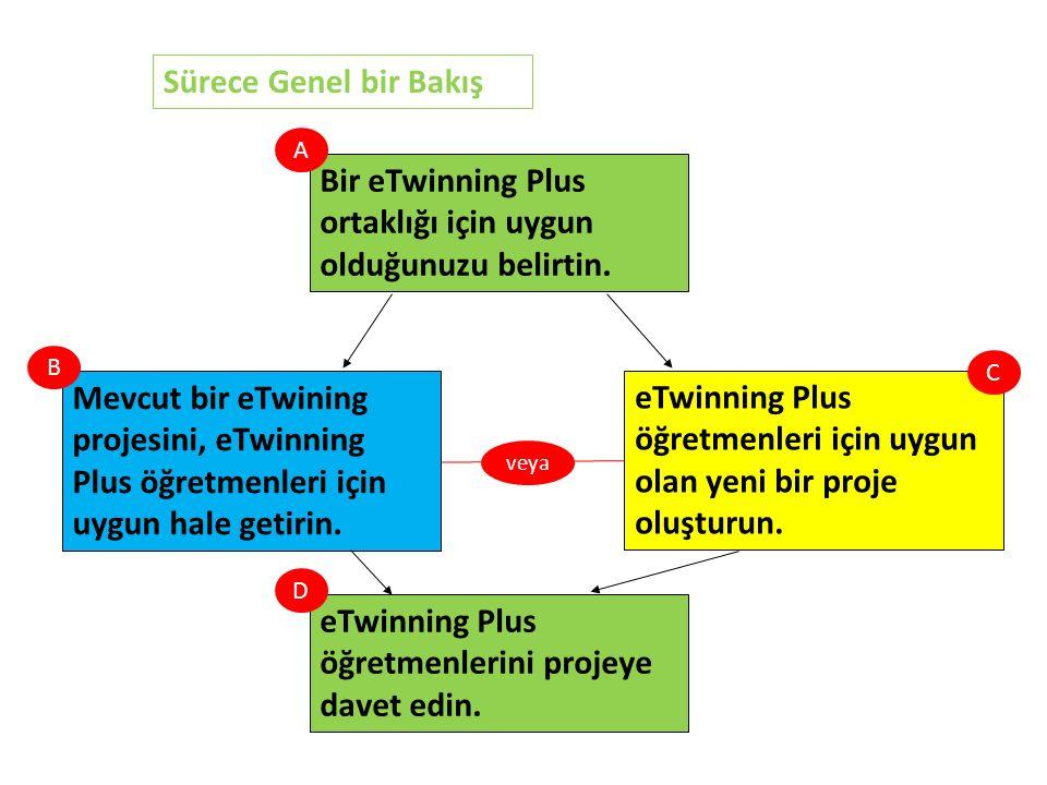 Mevcut bir eTwining projesini, eTwinning Plus öğretmenleri için uygun hale getirin.