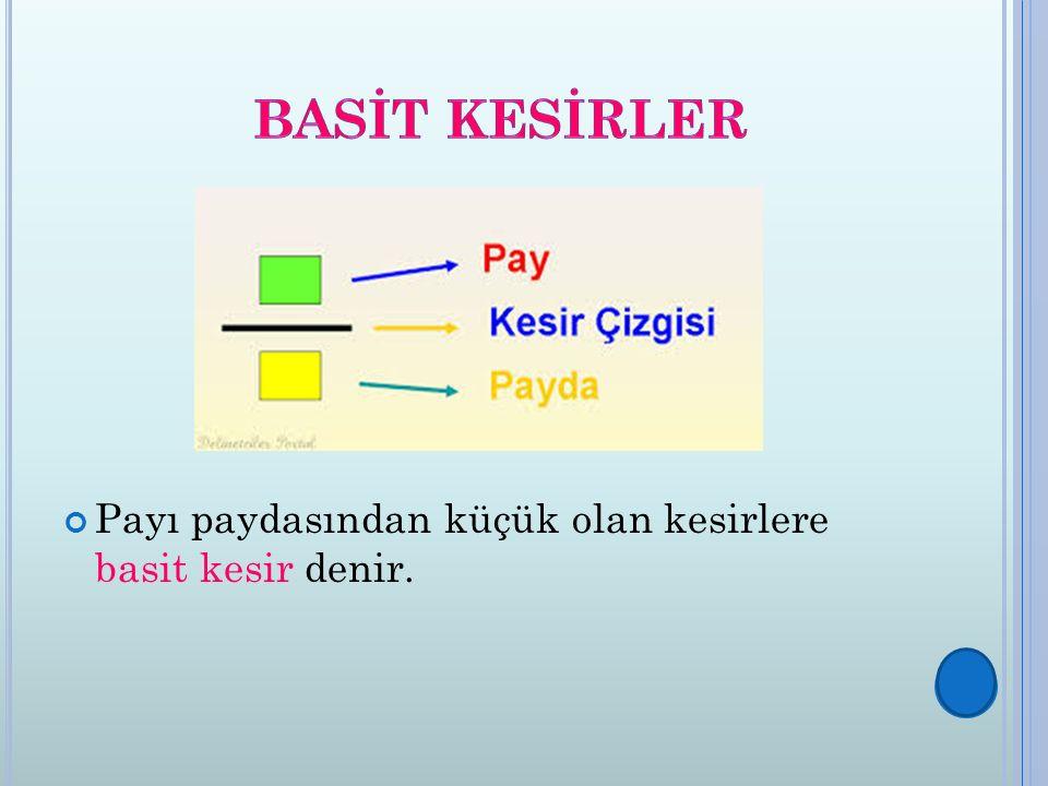 3) Payı Ve Paydası Eşit Olmayan Kesirleri Sıralama: Önce kesirlerin pay veya paydaları eşitlenir.