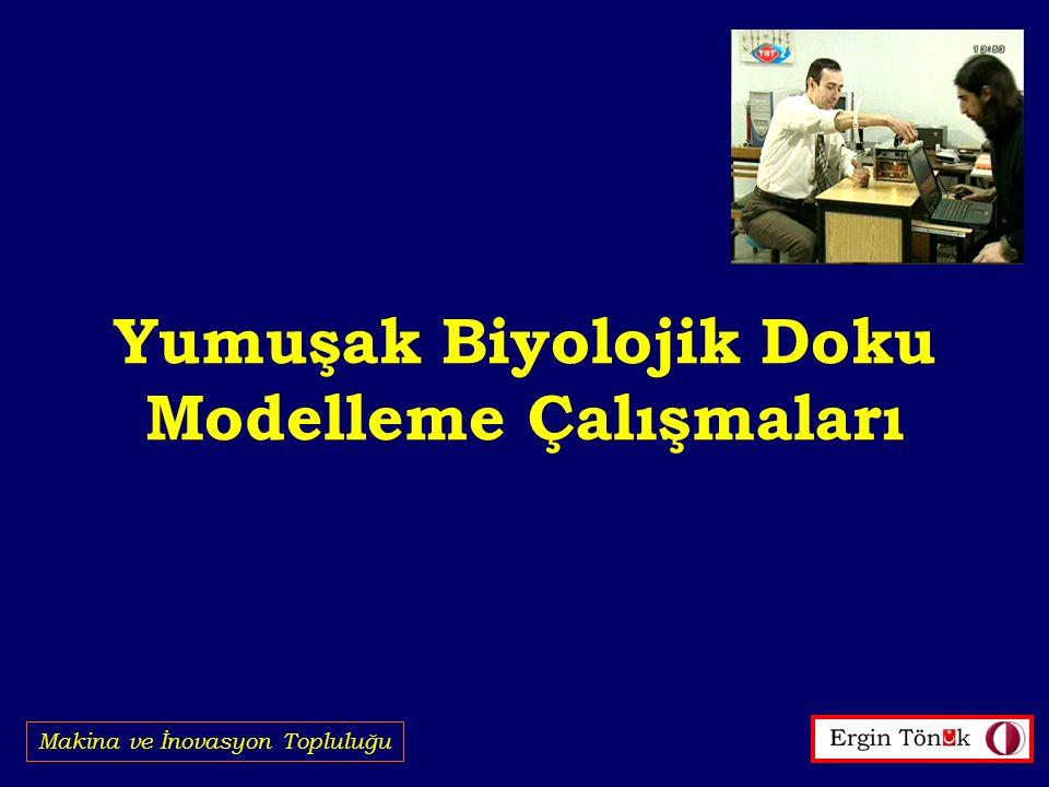 Yumuşak Biyolojik Doku Modelleme Çalışmaları Makina ve İnovasyon Topluluğu
