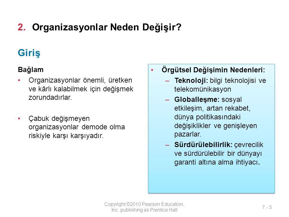 4.Değişimi Anlamamıza Yardımcı Olan Modeller Hangileridir.