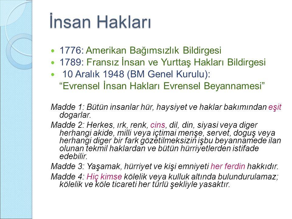 Türkiye'deki çalışmalar İlgili Bakanlık temsilcileri ve müsteşarlarından oluşturulan İnsan Hakları Koordinatör Üst Kurulu 1998'de Üst Kurul 46 maddeden oluşan düzenlemeler paketini yayınlamıştır.