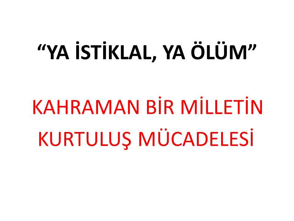 KÜTAHYA-ESKİŞEHİR MUHAREBESİ (10-24 TEMMUZ 1921) 1.
