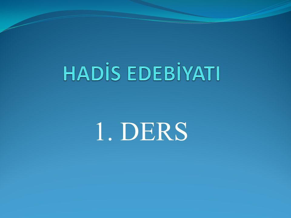 HÂKİM EN-NEYSABÛRÎ – MA'RİFET'Ü ULÛM'İL-HADÎS Nev' kelimesiyle bablar oluşturmuş, 52 nev oluşturmuştur.