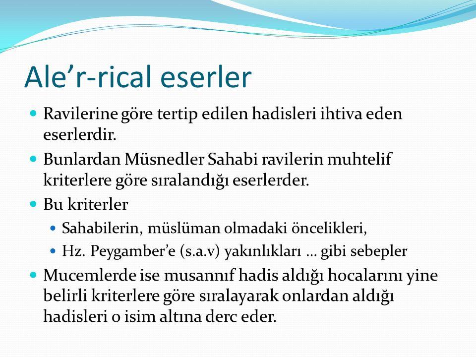 Mesâbih'üs-Sünne sünen kitapları tertibindedir, 4931 hadis ihtiva eder.