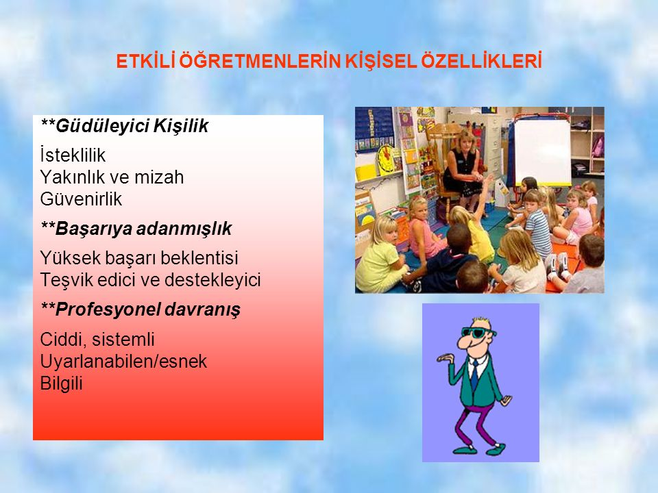 Yükseköğretim kurulu, ME Geliştirme Projesi, Hizmet öncesi öğretmen eğitimi projesi çalışmaları kapsamında hazırlanan öğretmen yeterlikleri listesi; 1