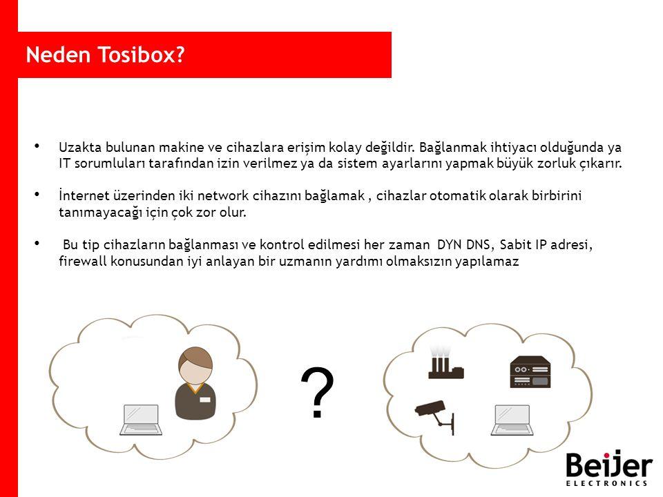 Neden Tosibox.Uzakta bulunan makine ve cihazlara erişim kolay değildir.