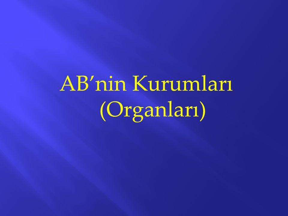 AB'nin Kurumları (Organları)