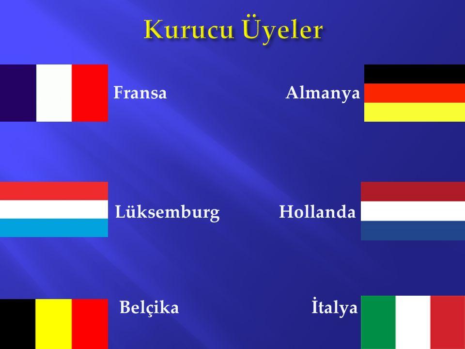 Fransa Almanya Lüksemburg Hollanda Belçika İtalya