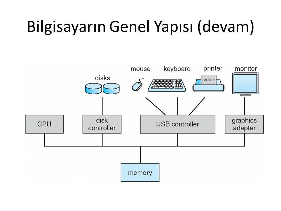 Bilgisayarın Genel Yapısı (devam)