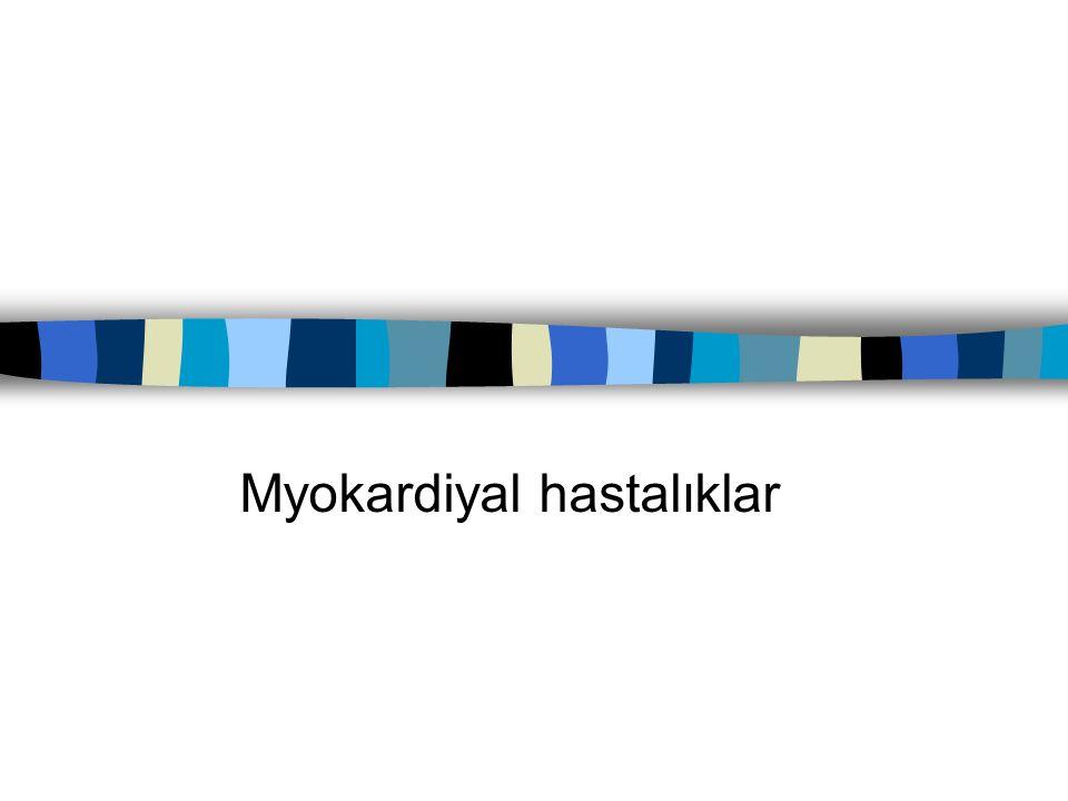 Hipertrofik kardiyomyopati n Hist:1.