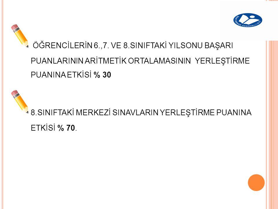ÖĞRENCİLERİN 6.,7.