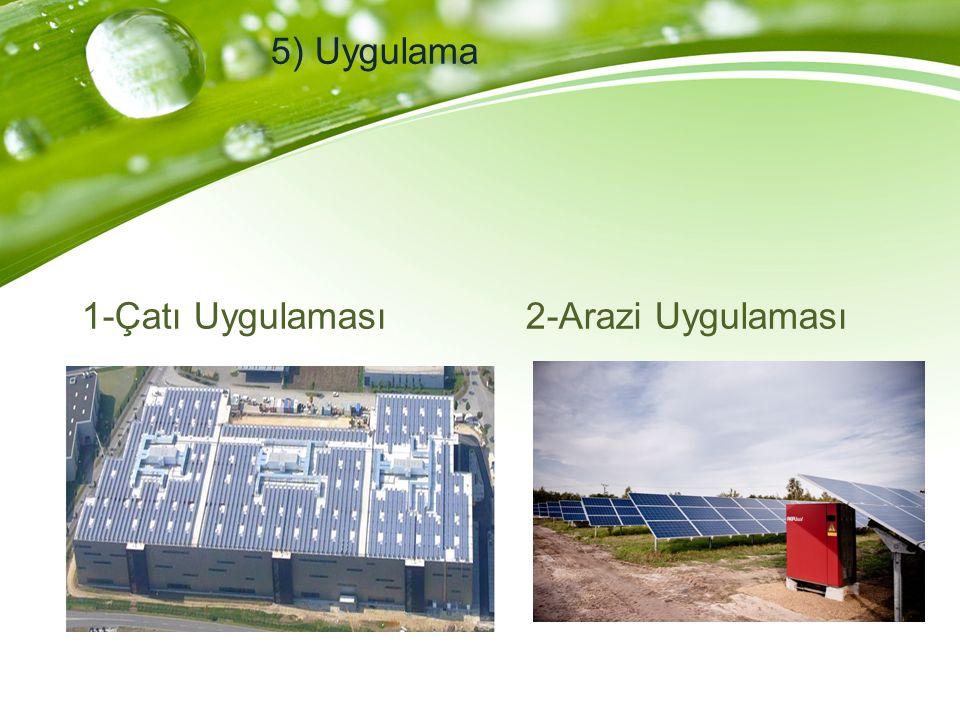 1-Doğrulama Üretilen enerjinin ön görü ile kontrolü 2-Fiziksel bakım 3-Elektriksel bakım 4-Performans bakımı 6) Bakım İşletme