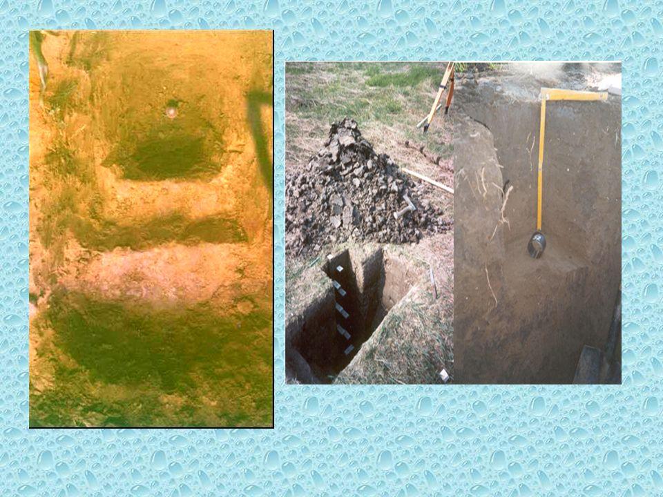 Arazinin sulamaya hazırlanmasında gerekli etütler 1. Toprak etütleri –Çalışılacak alandaki toprak değişimlerine göre 2-20 ha araziyi temsil edecek şek